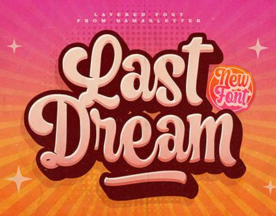 Last Dream Layered Font