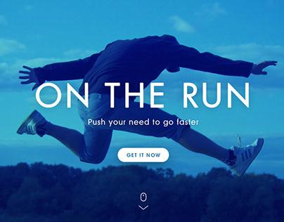 OnTheRun website and app (2015)