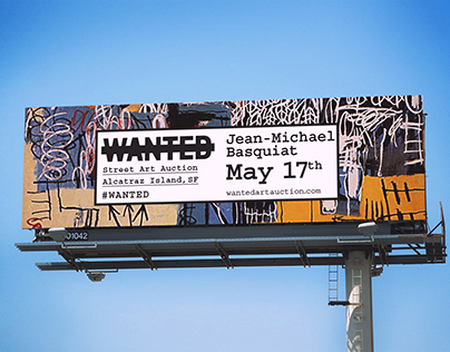 Wanted Street Art Auction
