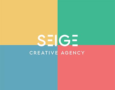 SEIGE -Creative Agency- Logo