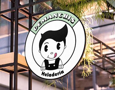 Ice-cream Logo Design