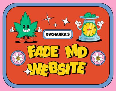 FadeMd - Website and Logo design