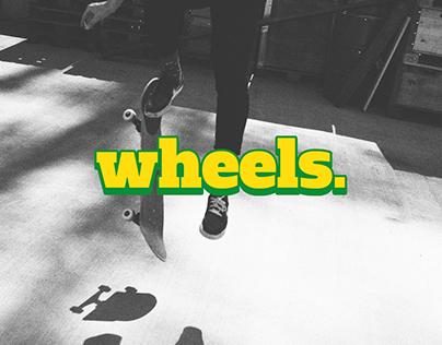Wheels mag - Skateboard Magazine // School Project