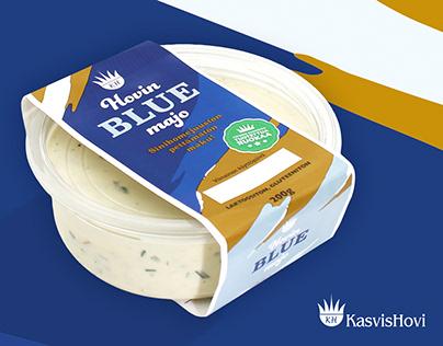 Packaging graphics for Kasvishovi