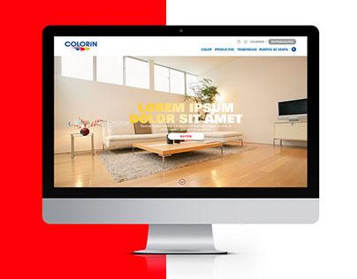 Colorin | Web Design