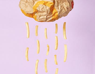 Snacks from McDonald's