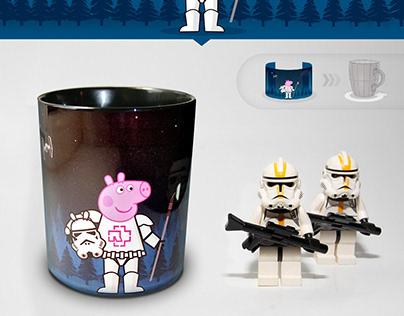 Pepa - Stormtrooper cup design )