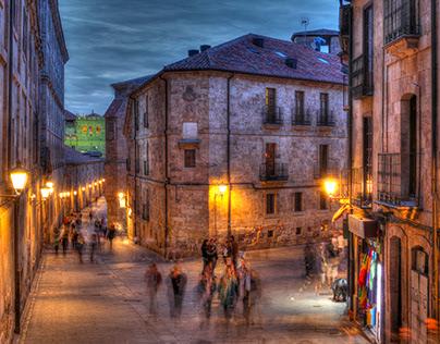 Salamanca, Old town, Spain