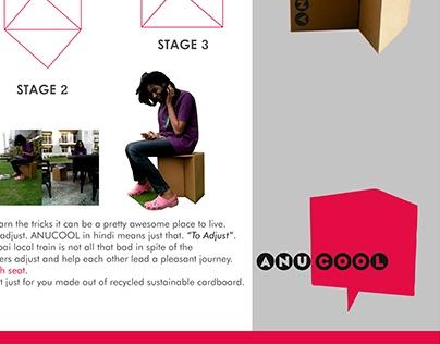 Anucool - The cardboard stool