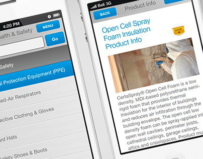CertaSpray Troubleshooting Mobile App