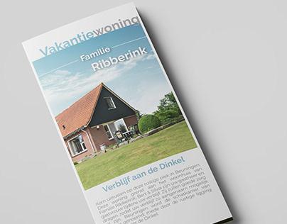Vakantiewoning - Brochure