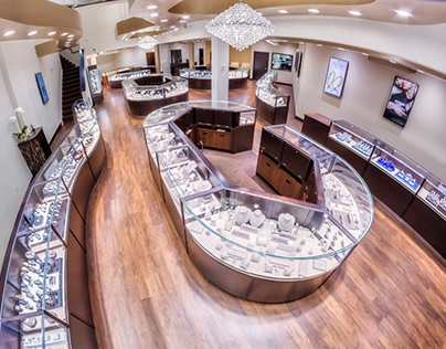 Interior Design: Park Place Jewelers by Leslie McGwire