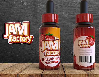 Jam Factory - Label Design
