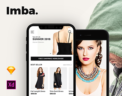 Imba E-Commerce App Ui Kit