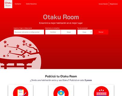 UX/UI - Otaku Room- An Acamica Project