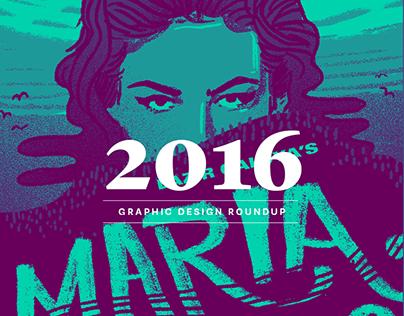 2016 Graphic Design Roundup