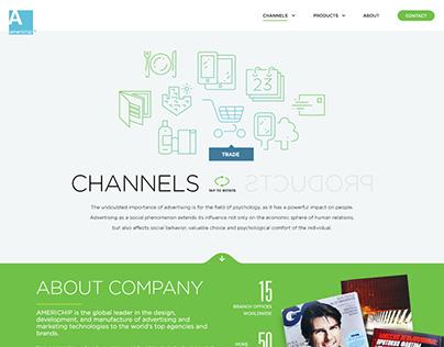 Americhip Site Web design