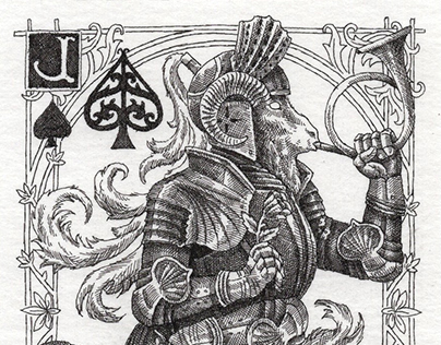 KINGHOOD | Original drawing playing cards