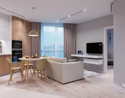 Design apartment in Kiev