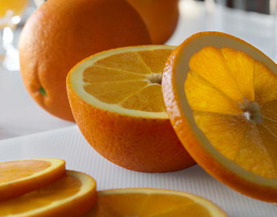Visualization of the oranges
