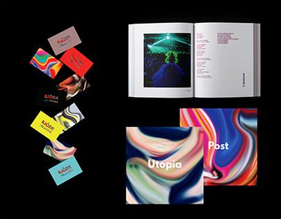Björk / 25 Years, Pt. 2_Editorial Design