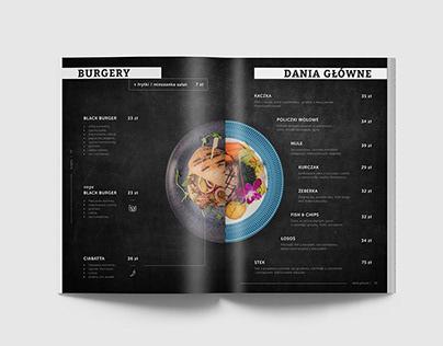 Paparazzi - menu design