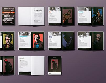 Pantheon - Book Layout