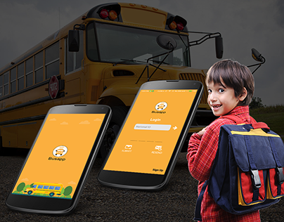 Live Tracking School bus APP