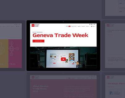 Website for Geneva Trade Week