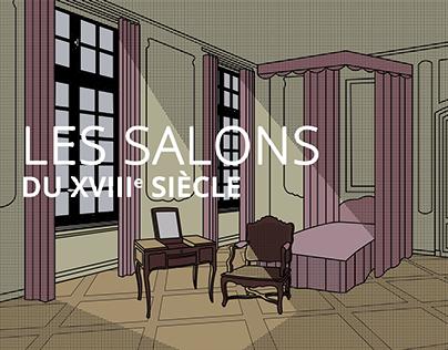 Les Salons du XVIIIème siècle