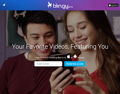 Blin.gy Homepage