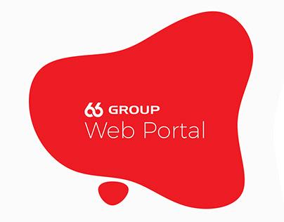 UI - Web Portal - Blob Design for 66 Group