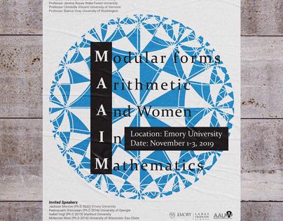 MAAIM Mathematics Conference Branding