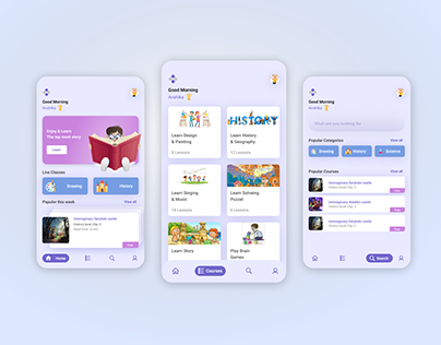 The kids learning App