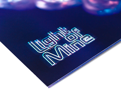 KYLE 'Light of Mine' Branding & Album Packaging