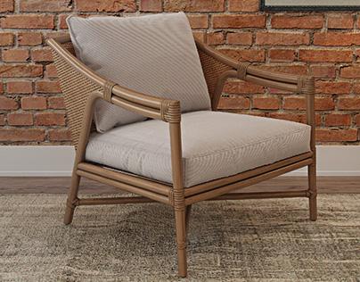 Lounge Chairs 3d models set