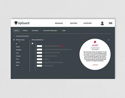 UX Design: Vulnerabilities View