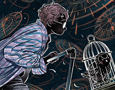 Illo: HARRY POTTER AND THE CURSED CHILD