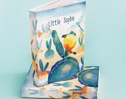 "Illustration for childrenstory ""Little Sophie"""