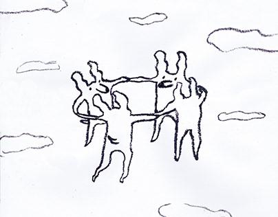 Flying doggos