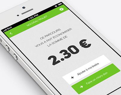 Pigrine - iPhone app concept