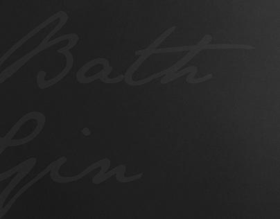 Bath Gin, Cocktail Book