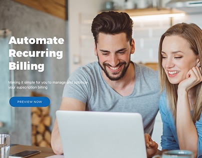 Landing Page Design: Financial Client