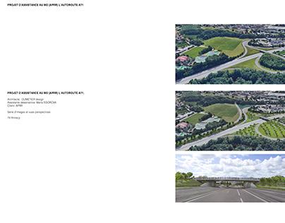Projet d'assistance au MO (APRR) L'autoroute A71