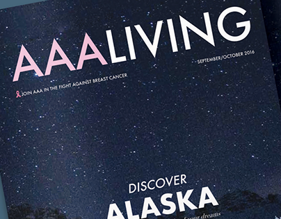 AAALIVING Magazine Re-design