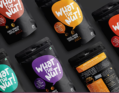 What The Nut! Packaging Design
