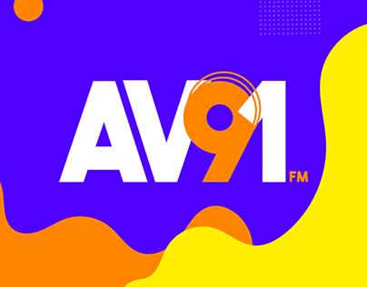 Avenida 91 FM // Identidade Visual