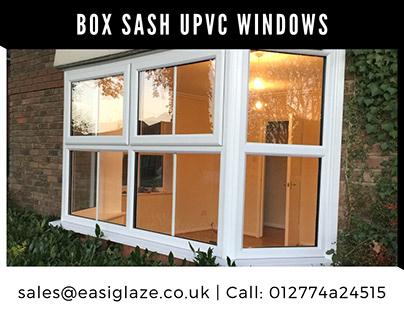 PVC-U sash windows
