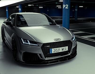 Audi TTRS - FULL CGI