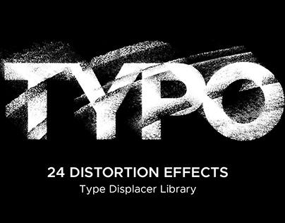 Typo: 24 Distortion Effects